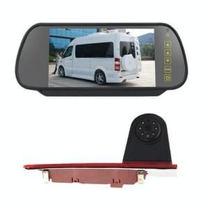 PZ477 Auto Waterdicht 170 graden RemLicht View Camera + 7 inch Achteruitkijkmonitor voor Ford Transit Custom