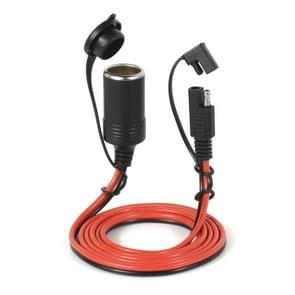 12V autolader sigarettenaansteker verlengsnoer Female socket met Quick Disconnect draad harnas