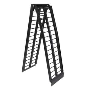 [US Warehouse] 10FT Portable Folding Aluminium ATV Truck Motorcycle Loading Ramp