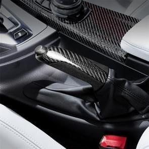 Carbon Fiber Car Handbrake Replacement Part for BMW F20 / F21 2012 - 2015 / F22 / F23 / F30 / F31 / F32 / F33 / F36 / F80 / F82 / F83, Sutible for Left Driving