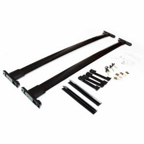 [US Warehouse] 2 PCS Car Roof Rack Cross Luggage Box Travel Luggage Houder voor 2011-2015 Ford Explorer
