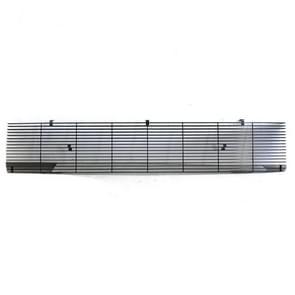 [Amerikaans pakhuis] Belangrijkste Bovenste Zwarte Poeder gecoate aluminium auto grille voor Chevrolet Van Suburban C10 C20 K10 K20 K5