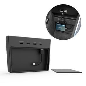 Auto 5 in 1 USB HUB Extender Extension Connector Adapter voor Tesla Model 3 voor maart 2020