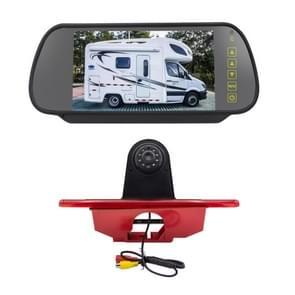 PZ465 Auto Waterdichte Brake Light View Camera + 7 inch Rearview Monitor voor Citroen / Peugeot / Toyota