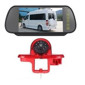 PZ464 Auto Waterdichte Brake Light View Camera + 7 inch Rearview Monitor voor Renault / Vauxhall