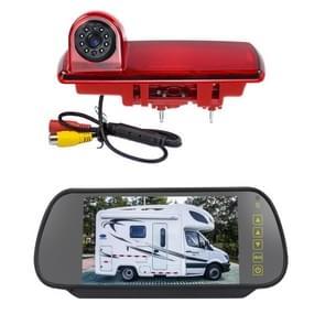 PZ463 Auto Waterdicht 170 Graden View Camera + 7 inch Achteruitkijkmonitor voor Renault / Opel