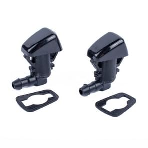 2 PCS Windshield Washer Wiper Jet Water Spray Nozzle 68260443AA for Jeep Grand Cherokee 2005-2013
