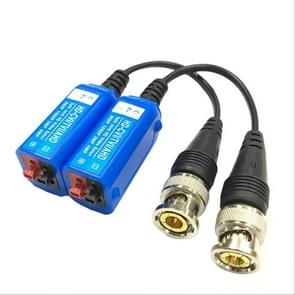 2 PCS Anpwoo 210C Spliceable Screwless-type Coaxial HD-CVI/AHD/TVI 1CH Passive Transceiver Video Balun