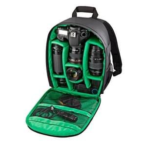 INDEPMAN DL-B012 Outdoor Buitensport Backpack Rugtas Camera Tas voor GoPro  SJCAM  Nikon  Canon  Xiaomi Xiaoyi YI  Afmetingen: 27.5 x 12.5 x 34 cm (groen)