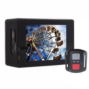 F60R 2.0 inch scherm 4 K 170 graden breed hoek WiFi Sport actie Camera Camcorder ontmoet huisvesting Waterdicht hoesje & Remote Controller  ondersteuning van 64 GB Micro SD Card(geel)