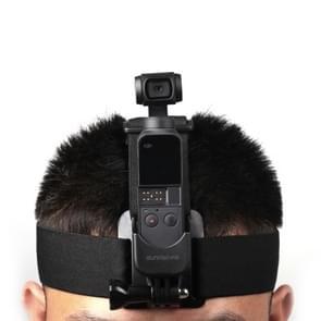DJI elastisch verstelbare bovendorpel band Mount gordel voor GoPro nieuwe held /HERO6 /5 /5 sessie /4 sessie /4 /3+/3 /2 /1  Xiaoyi  OSMO POCKET en andere actie camera's  met GOPRO Adapter Accessories(Black)