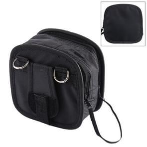9PCS Nylon Filter Bag with Strap, Size:14×12×6cm(Black)