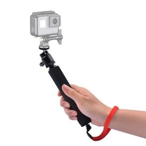 Universal 360 degree Selfie Stick with Red Rope for Gopro, Cellphone, Compact Cameras with 1/4 Threaded Hole, Length: 210mm-525mm
