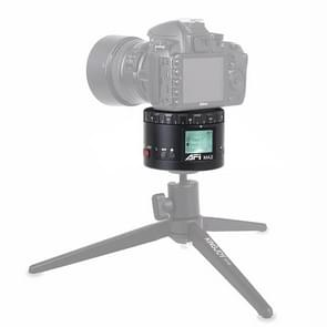 MA2 360 graden rotatie vertraagd Star fotografie LCD camera mount voor SLR & digitale camera's met time-lapse fotografie (zwart)