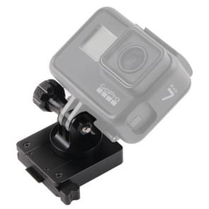 GP244-B Aluminum Mount for Gopro Hero3/3+/4/5/6/7 HD and NVG Mount Base