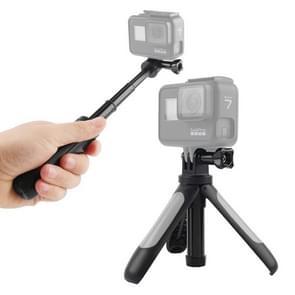 GP446 Multifunctionele Mini Vast statief voor GoPro HERO9 Zwart / HERO8 Zwart /7 /6 /5 /5 Sessie /4 Sessie /4 /3+ /3 /2 /1  DJI Osmo Action  Xiaoyi en andere actiecamera's(Grijs)