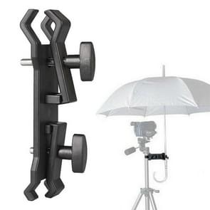Outdoor Camera Umbrella Holder Clip Bracket Stand Clamp Photography Accessory
