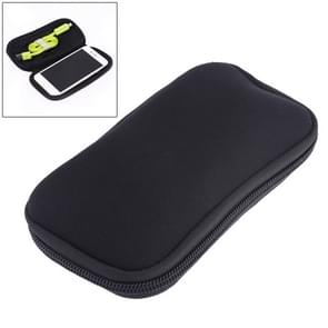 Neoprene U Disk Storage Bag Cover, Bag Size: 16x8.5cm(Black)