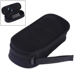 Draagbare neopreen digitale accessoires data kabel opberg zak (zwart)