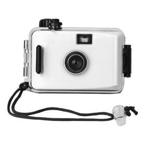 SUC4 5m Waterproof Retro Film Camera Mini Point-and-shoot Camera for Children (Black White)