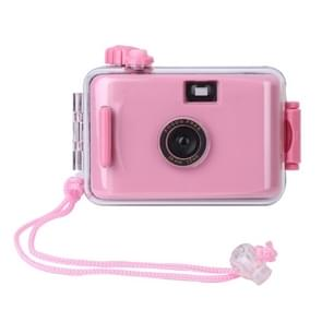 SUC4 5m Waterproof Retro Film Camera Mini Point-and-shoot Camera for Children (Pink)