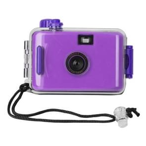 SUC4 5m Waterproof Retro Film Camera Mini Point-and-shoot Camera for Children (Purple)