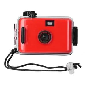 SUC4 5m Waterproof Retro Film Camera Mini Point-and-shoot Camera for Children (Red)
