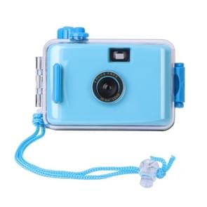 SUC4 5m Waterproof Retro Film Camera Mini Point-and-shoot Camera for Children (Baby Blue)