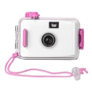 SUC4 5m Waterproof Retro Film Camera Mini Point-and-shoot Camera for Children (White)