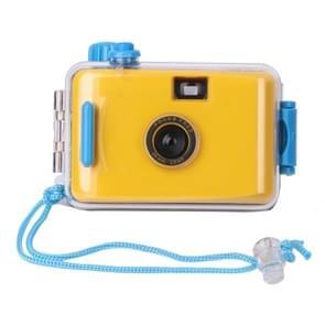 SUC4 5m Waterproof Retro Film Camera Mini Point-and-shoot Camera for Children (Yellow)