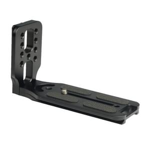 132C Universal 1/4 inch Vertical Shoot Quick Release L Plate Bracket Base Holder (Black)