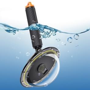 RUIGPRO drijvende hand greep Dome Port onderwater duiken camera lens transparante cover voor DJI osmo actie