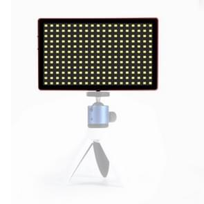 Litu foto L28 Pocket 228 LEDs professionele VLogging fotografie video & Photo Studio Light voor Canon/Nikon DSLR-camera's (rood)