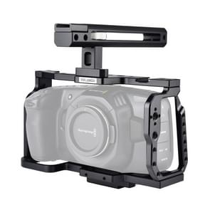 YELANGU C9 YLG0911A handvat video camera kooi stabilisator voor DJI BMPCC 4K (zwart)