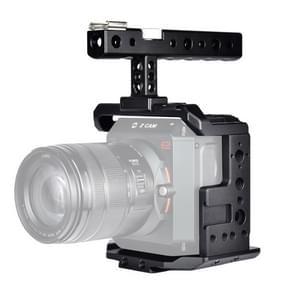 YELANGU C11 handvat video camera kooi stabilisator voor Z CAM E2 (zwart)