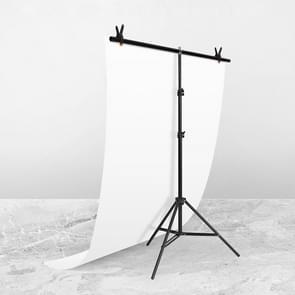 100x200cm T-Vorm FotoStudio Achtergrond Ondersteuning Steun Steun Achtergrond Crossbar Bracket Kit met clips