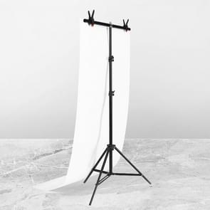 70x200cm T-Vorm FotoStudio Achtergrond Ondersteuning Steun Achtergrond Crossbar Bracket Kit met clips