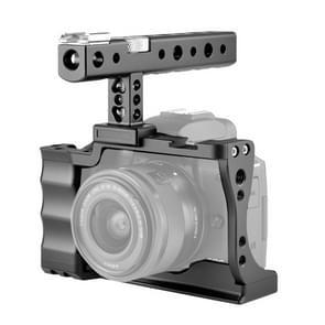 YELANGU C14 YLG0714A Video Camera Cage Stabilizer met handvat voor Canon EOS M50(Zwart)