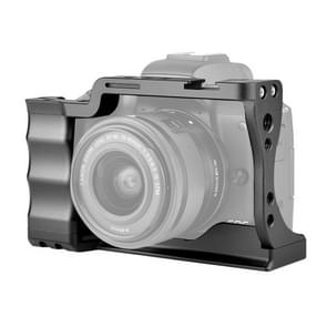 YELANGU C14-A YLG0714A-A Video Camera Cage Stabilisator met handvat voor Canon EOS M50 (Zwart)