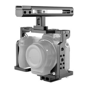 YELANGU C15-B YLG0711A-A Video Camera Cage Stabilisator met handvat voor Nikon Z6 / Z7(Zwart)