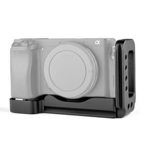 YELANGU YLG0715A 1/4 inch Vertical Shoot Quick Release L Plate Bracket basishouder voor Sony A6300 / A6000 / A6100 / A6400 / A6500 (Zwart)