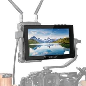 FEELWORLD F5 Pro 5 5 inch Full HD 1920x1080 IPS Touch Screen DSLR Camera Field Monitor met kantelarm  ondersteuning 4K HDTV-ingang / uitvoer