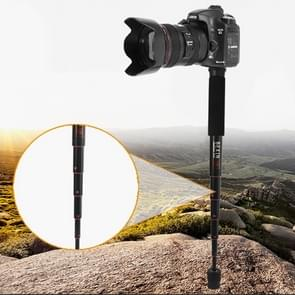 BEXIN P256A Portable Travel Outdoor DSLR Camera Aluminium Alloy Monopod Holder (Zwart)