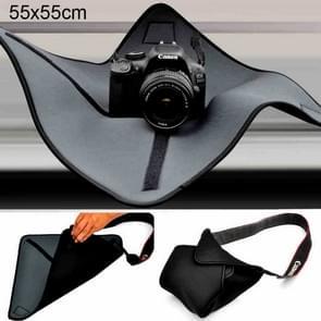 Shockproof Neoprene Bag Magic Wrap Blanket for Canon / Nikon / Sony Camera Lens, Size: 55 x 55cm