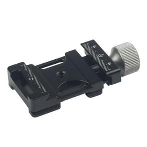 Q380 Arca Swiss Quick Release Clamp Adapter Plate Mount (Black)
