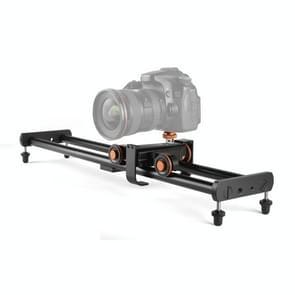 YELANGU L4X-BE YLG1817A 60cm Aluminium Legering Splicing Slide Rail Track + 3-wheel Video Pulley Rolling Dolly Auto voor spiegelreflexcamera's / Videocamera's