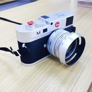 Non-Working Fake Dummy DSLR Camera Model Photo Studio Props for Leica M, Hood Lens (Silver)