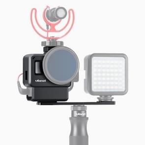 Ulanzi V2 Pro Gopro Vlog Case Cage with 52mm Filter Mic Adapter Lens Hood Vlogging Case for GoPro HERO7 / 6 / 5
