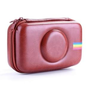 Camera Bag EVA Shockproof Camera Storage Bag for Polaroid Snap Touch(Brown)