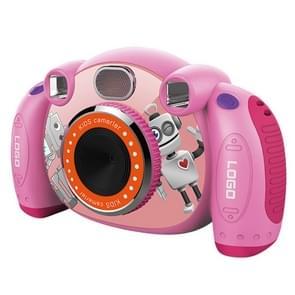 KC501 3.000.000 pixels 2,0 inch HD scherm digitale kinderen camera (roze)